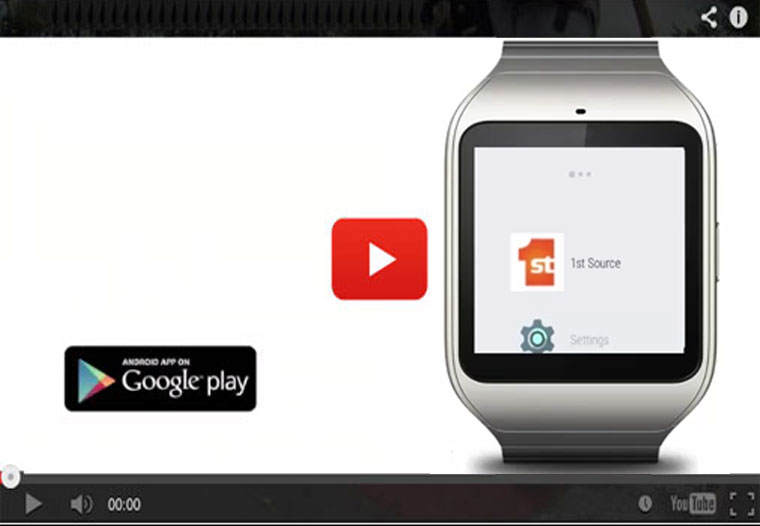 Play the Android Wear video