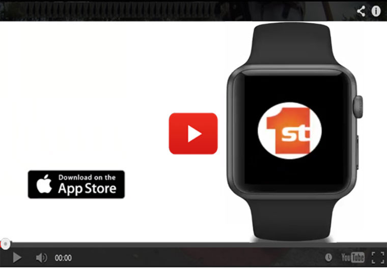 Play the Apple Watch video