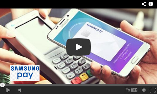 Play the Samsung Pay video