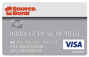 Visa business credit card with rewards